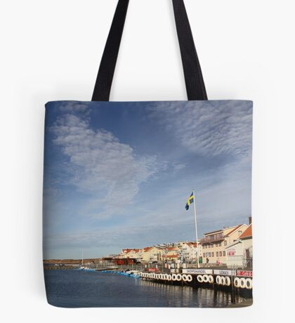 Lysekil harbour, West Sweden Tote Bag