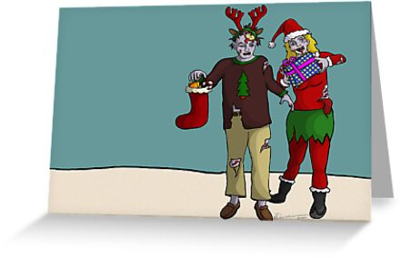 Xmas Zombies by Lee Leplaw Deichmann