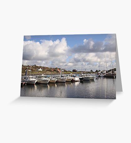 South Koster harbour Greeting Card