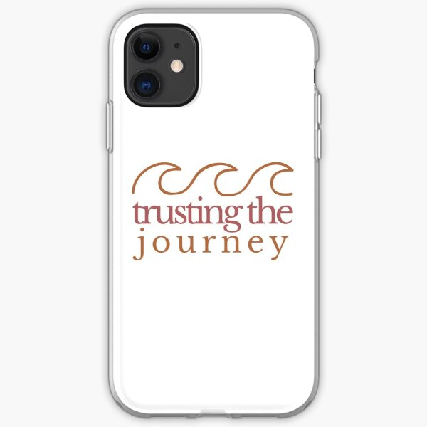 trusting the journey iPhone Soft Case