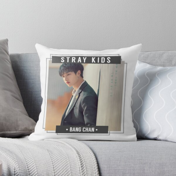 Stray Kids - Bang Chan Throw Pillow