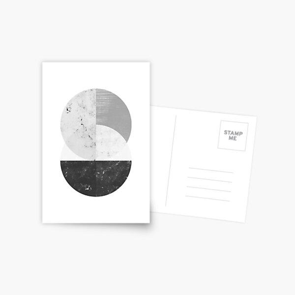 Geometric Art Postcard