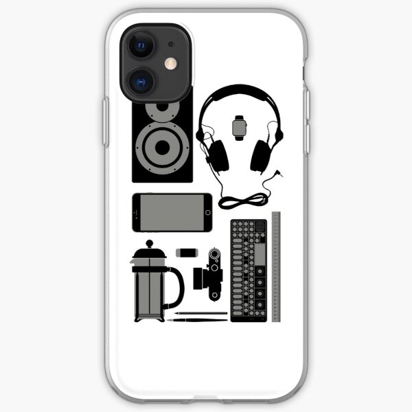 Studio Objects Vector Illustration iPhone Soft Case