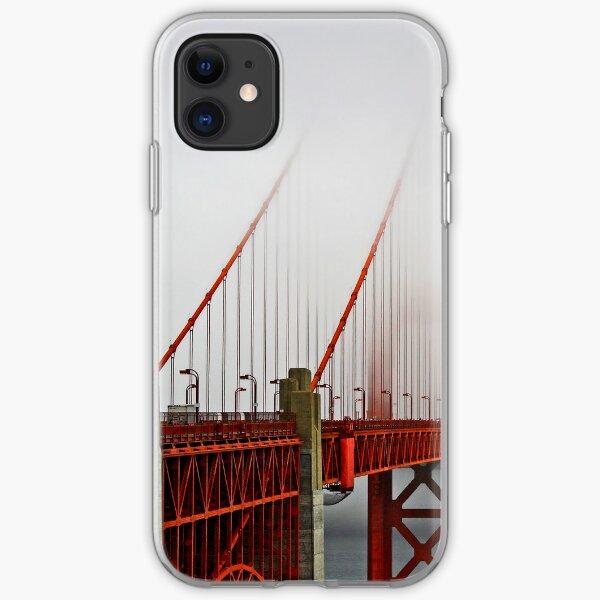 Golden Gate Bridge in Fog iPhone Soft Case