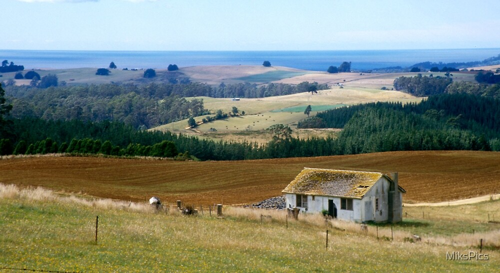 Cultivated land, Fallow home by MiksPics