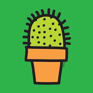Cactus - Print, Card & Poster by oekies