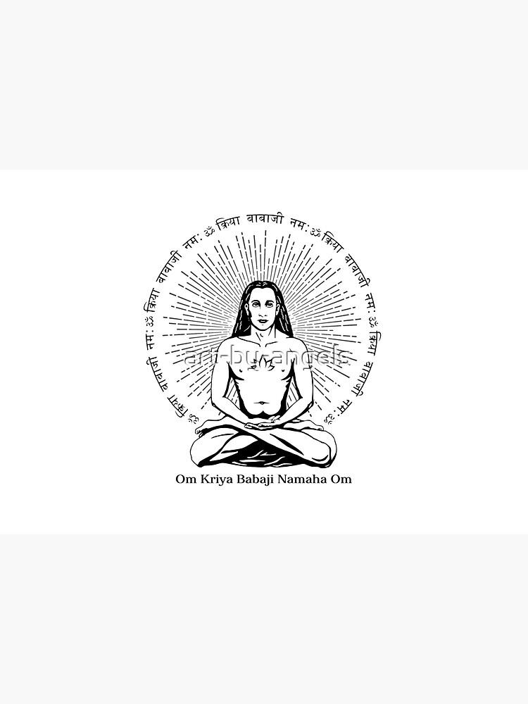 Mahavatar Babaji by art-by-angels
