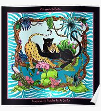 Companions in Paradise by Ro London - Menagerie Collection Poster