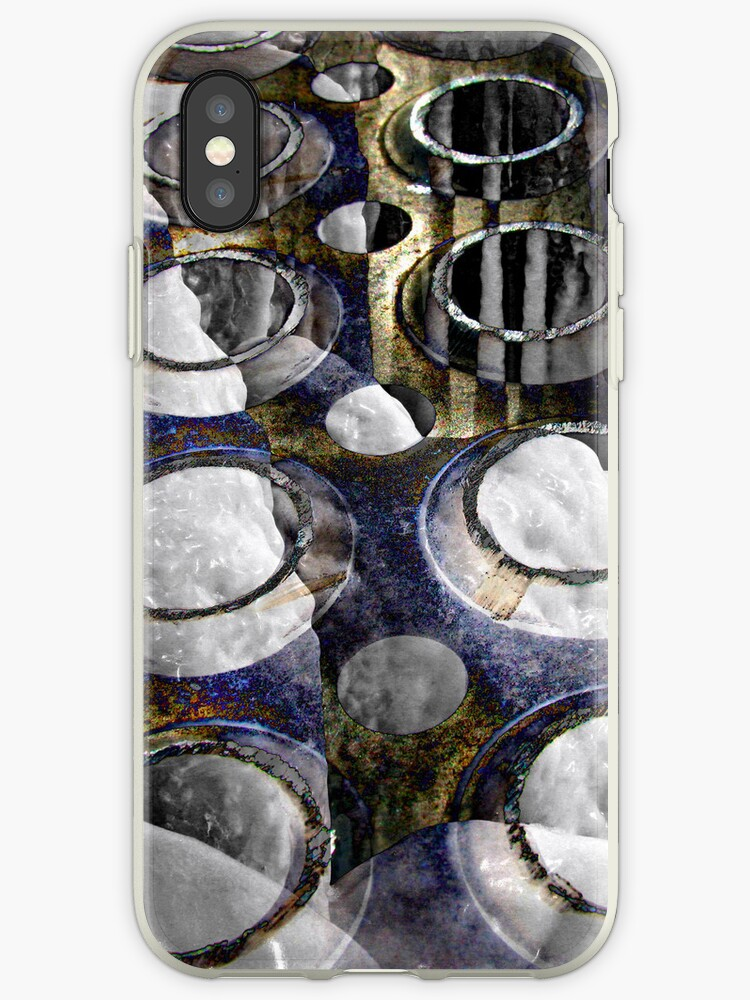 Cold Steel Abstract by Robyn Carter
