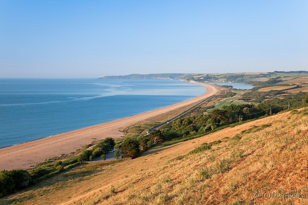 Slapton Ley from Strete Gate by Kerry Dunstone