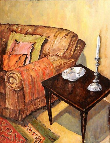 A Corner of my Lounge by JolanteHesse