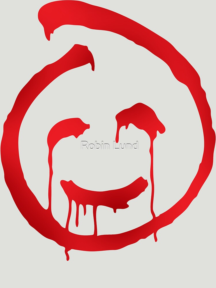 Red John Smiley Symbol Unisex T Shirt By Kosmonaut Redbubble