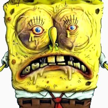 Close up Spongebob by ryan1815