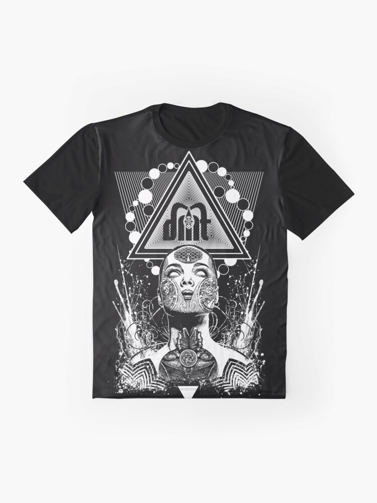 Alternate view of DMT Goddess Graphic T-Shirt