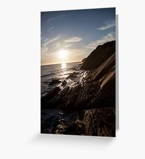 Gaviota Beach  Greeting Card