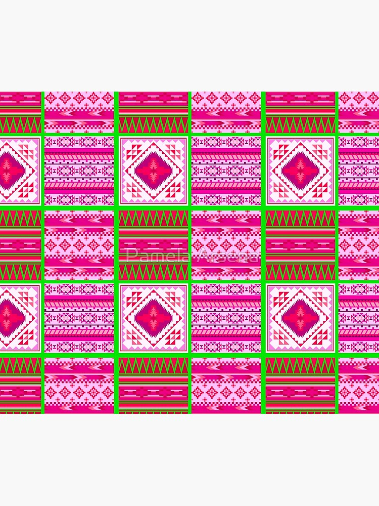 Contemporary South Western Tribal Print by xpressio