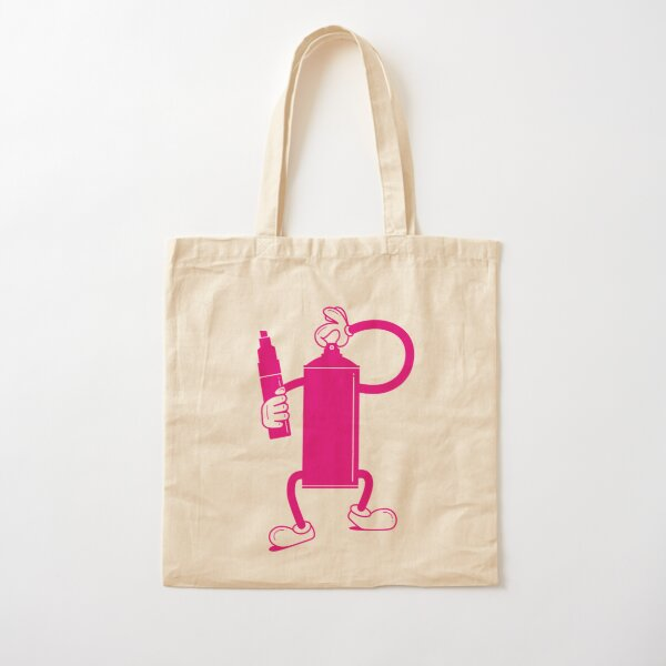 Mr Spray Can Cotton Tote Bag