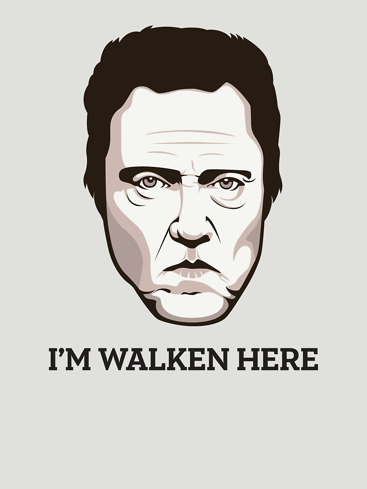 "Christopher Walken - ""Walken Here"" T-Shirt 