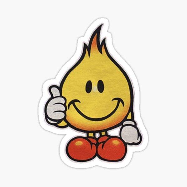 World Industries Flame Boy Hook Ups Skate Hookups Hook-Ups 90's Vintage Sticker