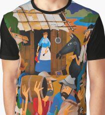 BRADY ROBS MEREDITH'S HUT, 'REDBANKS' 1825 Graphic T-Shirt