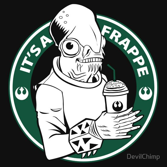 TShirtGifter presents: It's Also A Frappe!