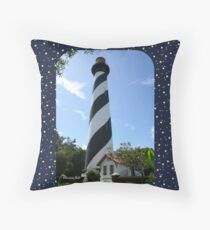 St. Augustine Lighthouse ~ 1874 Throw Pillow