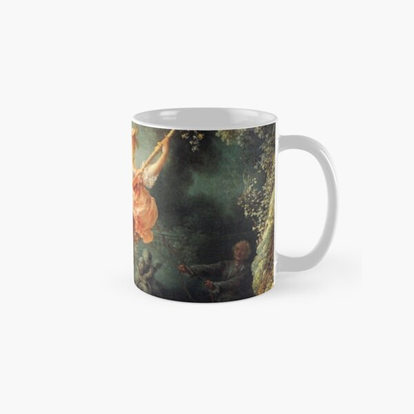The Swing by Jean-Honoré Fragonard Classic Mug