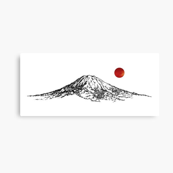 Mount Yotei Canvas Print