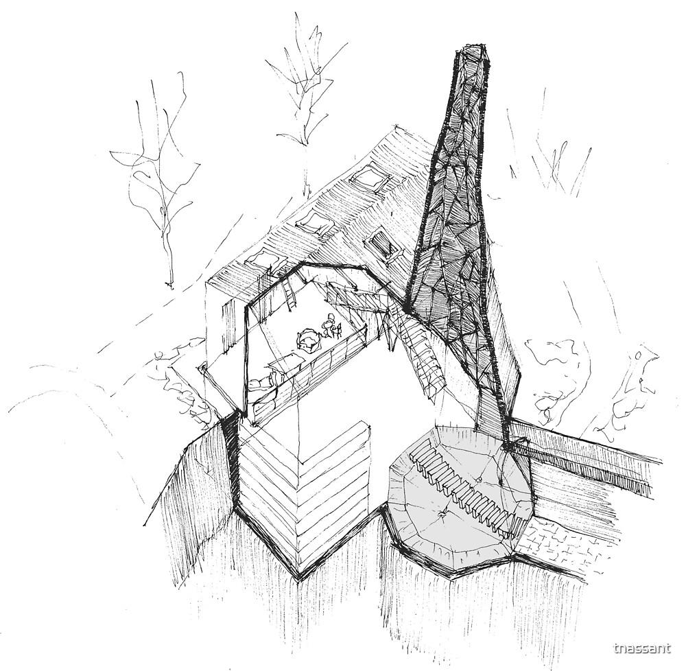 Forgotten Spaces Chimney by tnassant