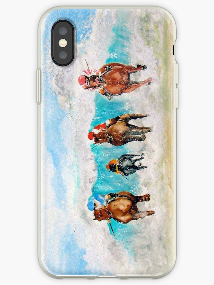 Surf's Up at Del Mar - IPhone Case by Rob Beilby