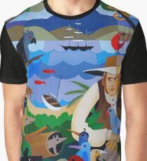 CHARLES DARWIN IN HOBART 1836 Graphic T-Shirt