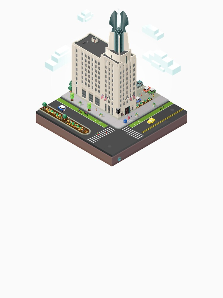 City Blocks: Times Square Building (Rochester, NY)  by MetroPosters