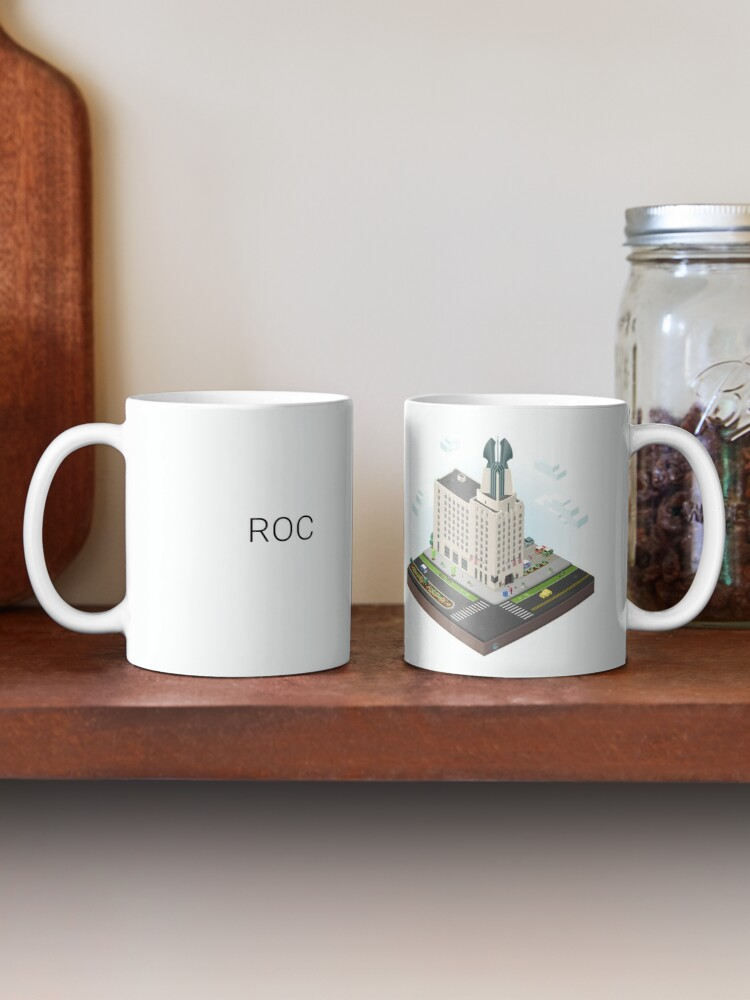 Alternate view of City Blocks: Times Square Building (Rochester, NY)  Mug