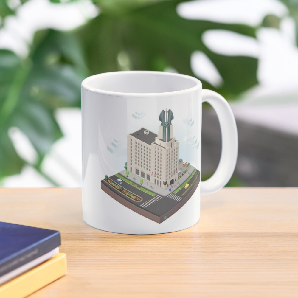 City Blocks: Times Square Building (Rochester, NY)  Mug