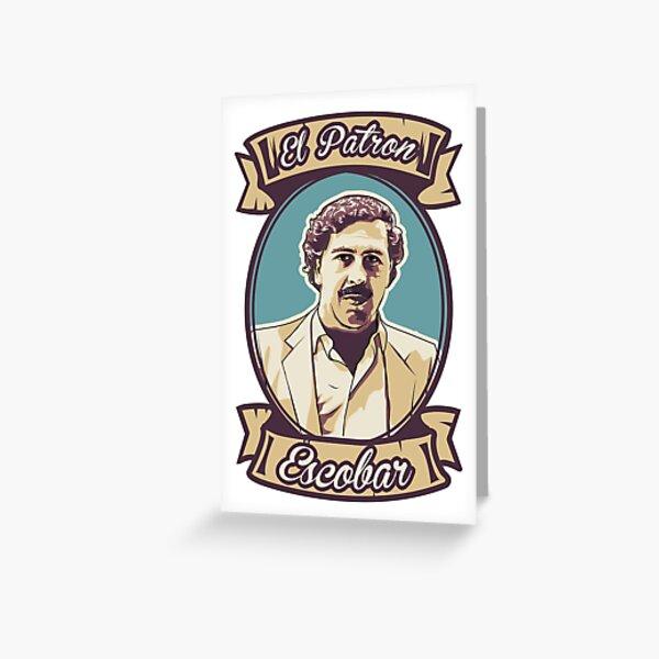 Pablo Escobar - El Patron Carte de vœux