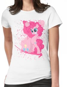 Paintie Pie Womens Fitted T-Shirt