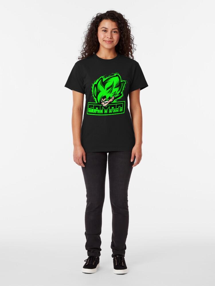 Alternate view of Super Sayan Green Classic T-Shirt