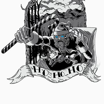 Winter Here I Come Sticker by monochromefrog