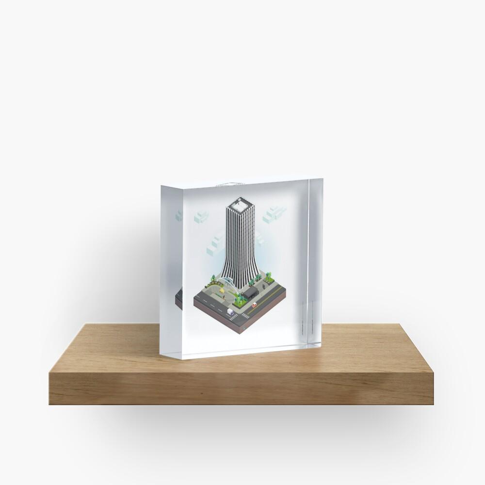 City Blocks: The Metropolitan Building (Rochester, NY)  Acrylic Block