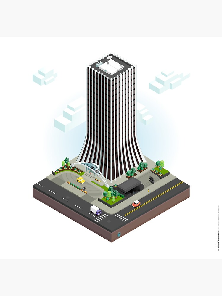 City Blocks: The Metropolitan Building (Rochester, NY)  by MetroPosters