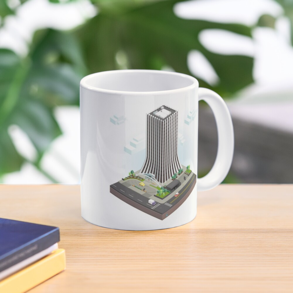 City Blocks: The Metropolitan Building (Rochester, NY)  Mug