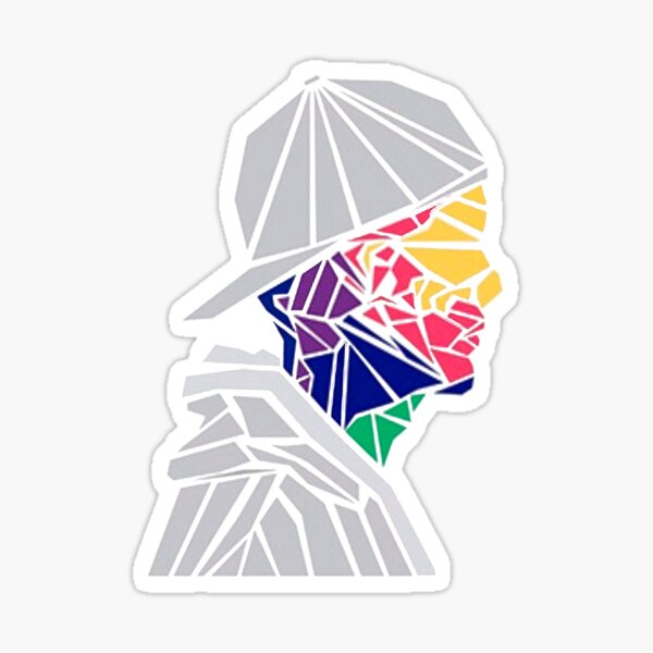 Portrait d'Avicii Sticker