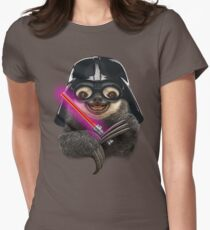 DARTH SLOTH Women's Fitted T-Shirt