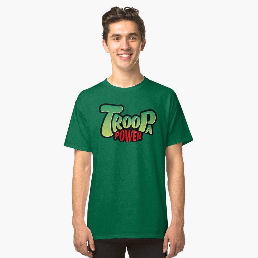 Troopa Power Logo Classic T-Shirt