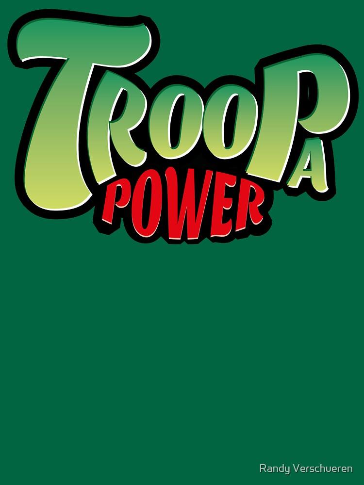 Troopa Power Logo by vieke