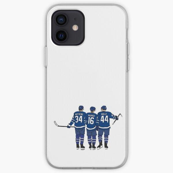 Matthews, Marner et Rielly - Maple Leafs Coque souple iPhone