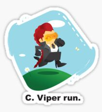 C. Viper run. Sticker