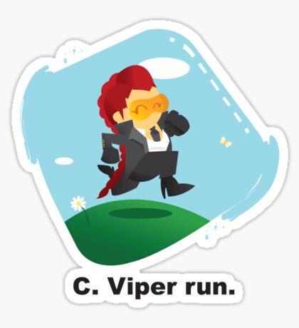 C. Viper run. Sticker