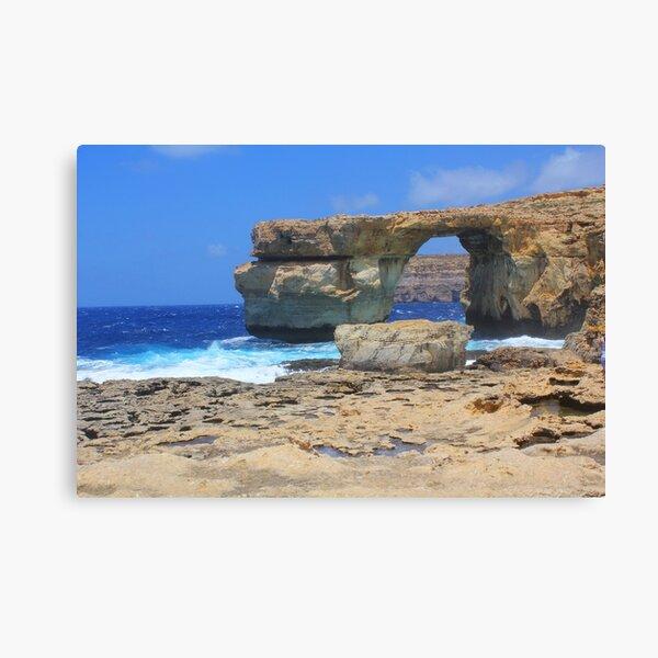 Azure Window, Dwejra Bay, Gozo, Malta Canvas Print