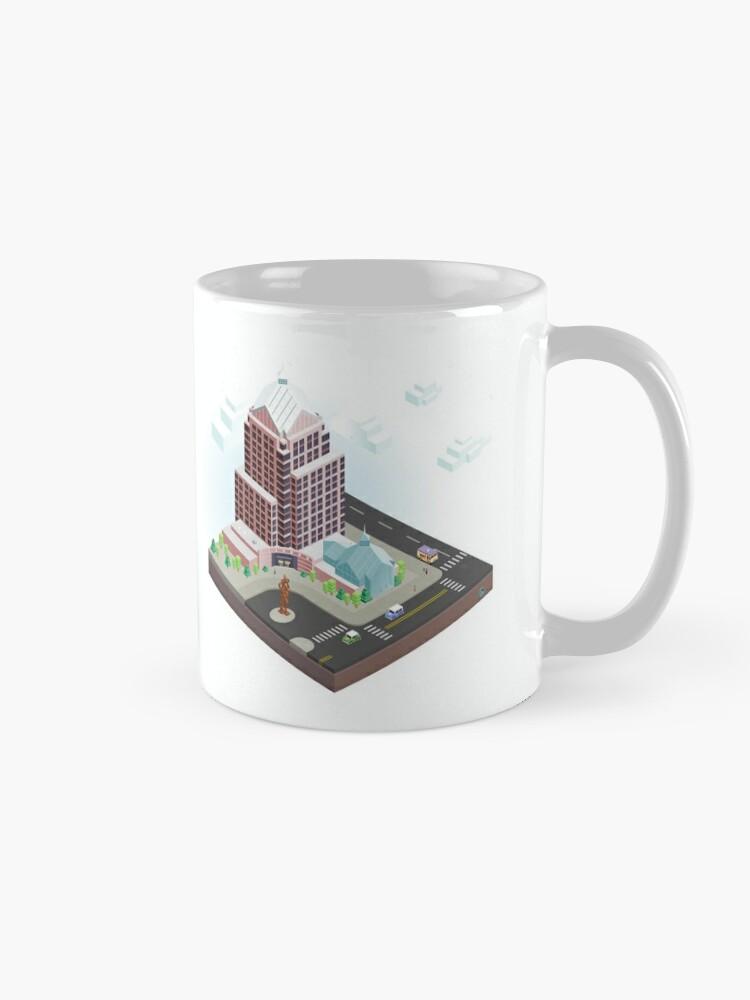 Alternate view of City Blocks: Legacy Tower (Rochester, NY) Mug